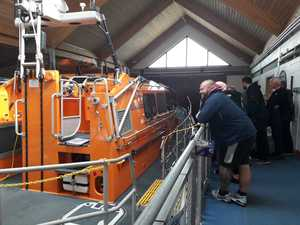 At RNLI Station