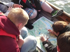 Wilderness group on Duet looking at charts (1)